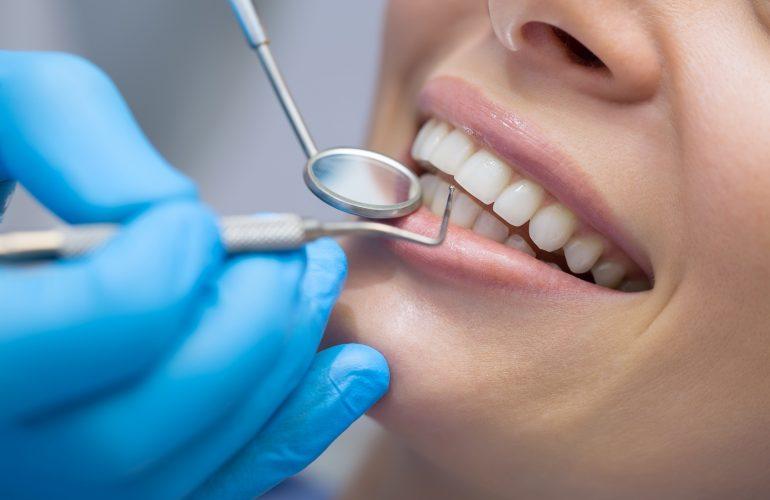 Diagnose von empfindlichen Zähnen